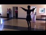 Осетинский танец (на свадьбе Насти)